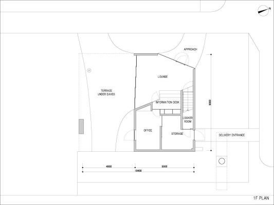 Plan : Image courtesy Odagi Planning & Associates + Narushima architecture office