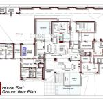 Ground Floor Plan : Image courtesy Nico Van Der Meulen Architects