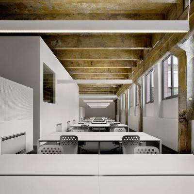Open space area: Image Courtesy DAP studio