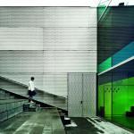 Entrance facade, Image Courtesy © Jordi Surroca