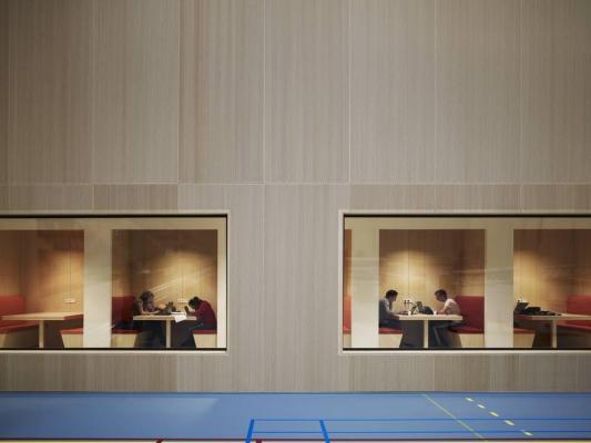 Fontys Sports College, Netherlands, by Mecanoo International b.v., Mecanoo architecten