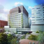 The Brigham Building for the Future will bring 620,000 square feet of translational research and clinical space to Brigham and Women's Hospital.- Image Courtesy © nbbj