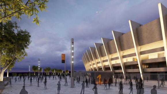 Image Courtesy © BCMF Arquitetos, Minas Arena