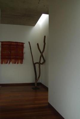Corridor for the bedrooms, Image Courtesy © Francisca Polanco