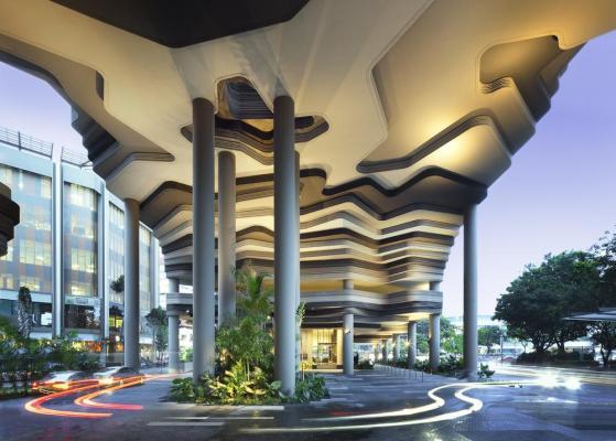Hotel porte-cochere, Image Courtesy © Patrick Bingham-Hall