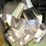 Aluminum light object, Image Courtesy © Atsushi Ishida, Nacasa & Partners