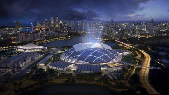 Singapore Sports Hub (Singapore), Singapore Sports Hub Design Team (DP Architects and Arup associates)