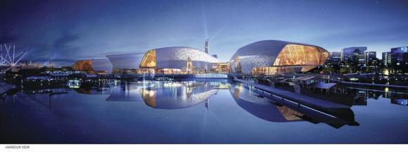 National Maritime Museum of China (China), Cox Rayner Architects