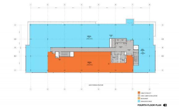 Level 4, Image Courtesy © Ehrlich Architects
