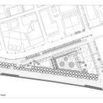 Plan of the garden of music, Image Courtesy © nikiforidis-cuomo architects