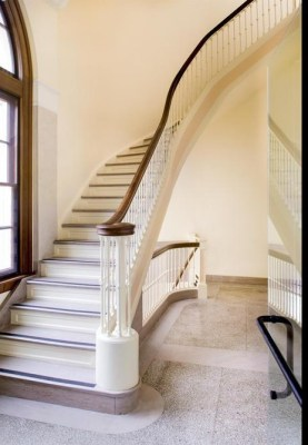 West Stair After Renovation,Image Courtesy © Kevin G. Reeves, Photographer