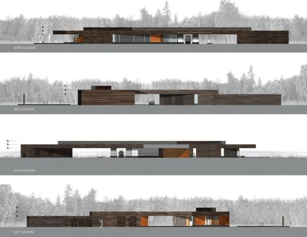 Elevations ,Image Courtesy © Snow Kreilich Architects