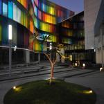 View of the Integrated Plaza, Image Courtesy © ABIN DESIGN STUDIO