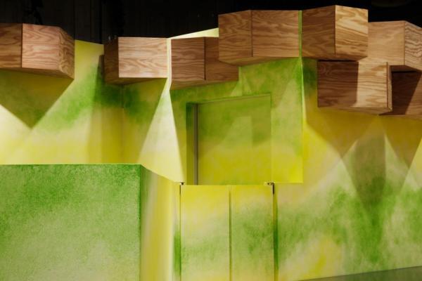 Wall / tree trunk fixture, Image Courtesy © Atsushi ishida
