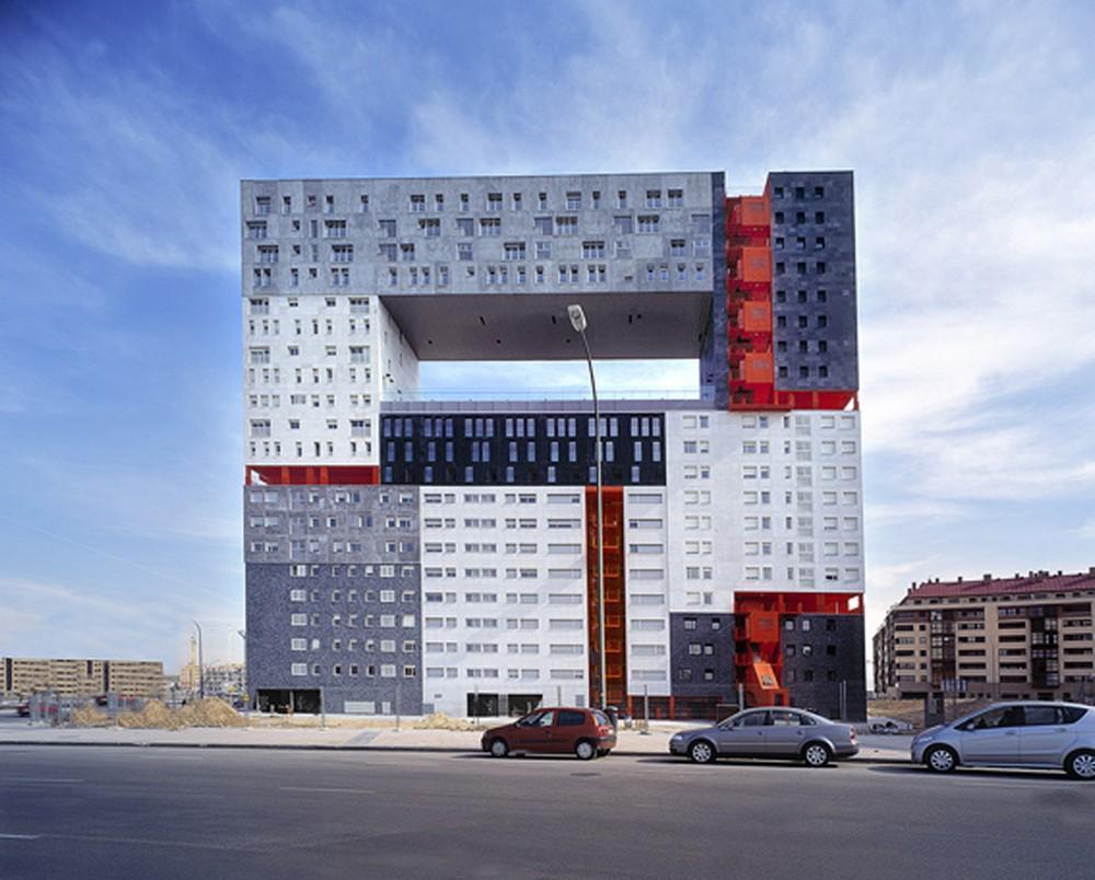 Archshowcase mirador building in madrid spain by mvrdv for Blog builders