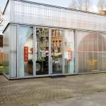 View at the multipurpose entrance space., Image Courtesy © Ilse Liekens