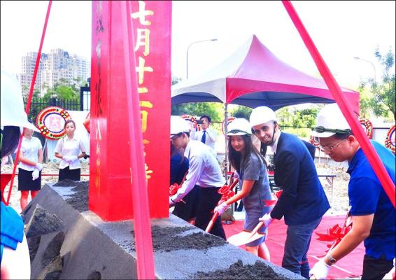 Kaohsiung Tower Ground Breaking Ceremony.,  Image Courtesy © spatial practice