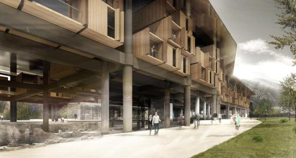 Antakya Museum Hotel by Emre Amrolat Architects