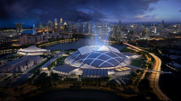 Singapore Sports Hub by Singapore Sports Hub Design Team