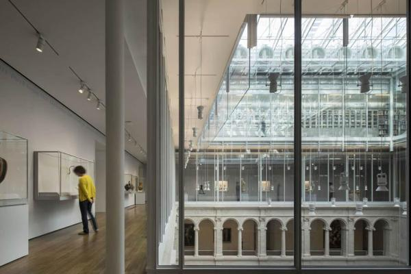 Interior view - 3rd floor Gallery September 2014, Image Courtesy © Ph. Nic Lehoux