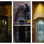 Restoration of the doors from frigidarium to tepidarium, Image Courtesy © Sibel Ozkars (old), Cengiz Karliova (new)