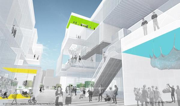 Image Courtesy © AtelierBlur / Georges Hung Architecte D.P.L.G. + Partners