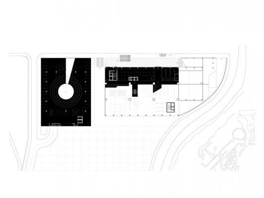 Road Level Plan, Image Courtesy © U67 (Fabio Gigone + Angela Gigliotti)