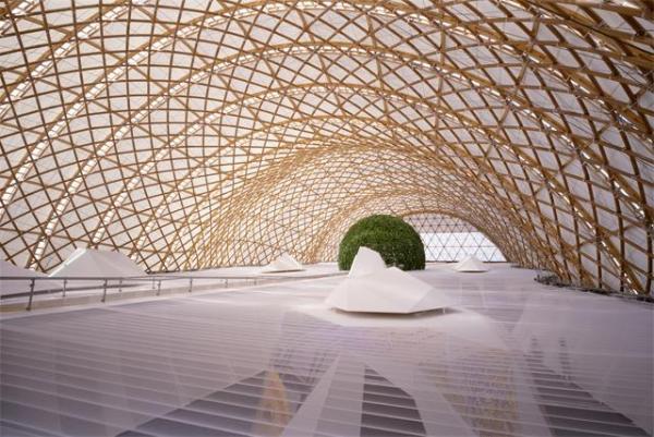 Japan Pavilion, Expo 2000, Hannover 2000, Hannover, Germany --  Photos by Hiroyuki Hirai