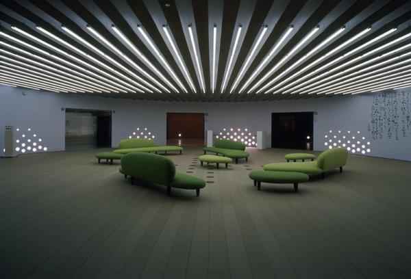 the lobby, Image Courtesy © Shigeru Ohno