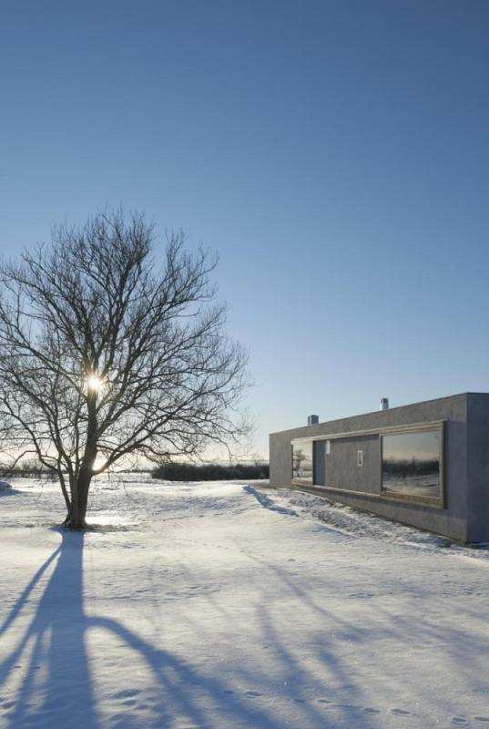 East elevation viewed from the north, Image Courtesy © Åke E: son Lindman