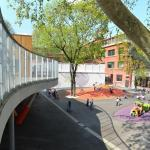 child playgrounds entirely reworked, Image Courtesy © ADEN ARCHITECTES