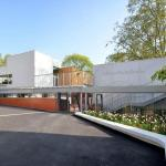 NEW SCHOOL'S ENTRANCE, Image Courtesy © ADEN ARCHITECTES