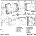 Dream Asylum Presentation Drawing, Image Courtesy © Walters Storyk Design Group (WSDG)