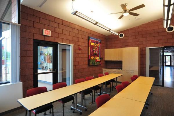 Training & Public Community Room, Image Courtesy © LEA Architects