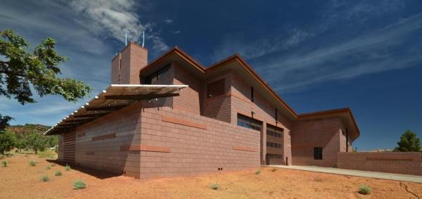 SE  Corner with Solar PV + Shade, Image Courtesy © LEA Architects