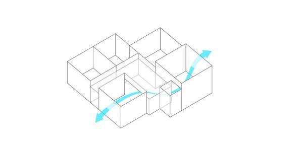 Ventilation, Image Courtesy © Studio Wills + Architect