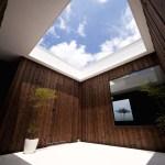 Courtyard/Dining space, Image Courtesy © Toshihiro Sobajima