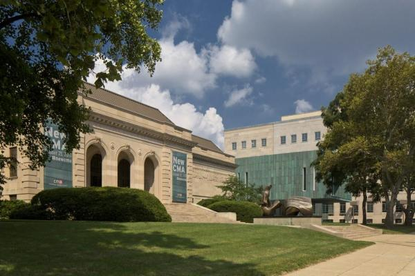 View of Columbus Museum of Art's new Margaret M. Walter Wing with the Museum's historic Richard M. and Elizabeth M. Ross Building, Image Courtesy © Brad Feinknopf