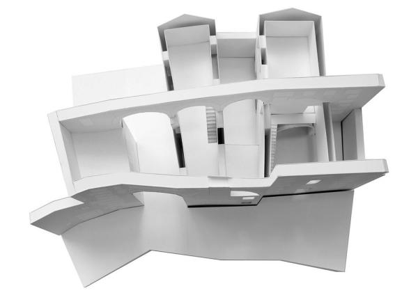 MODEL, Image Courtesy © PAREDES PEDROSA ARQUITECTOS