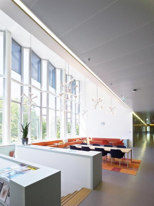 Double-height lounge area photo, Image Courtesy © Petra Appelhof