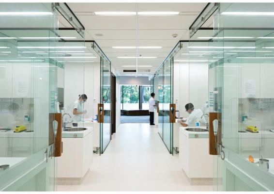 The University of Queensland Oral Health Centre by Cox Rayner Architects, Australia, Image Courtesy © Cox Rayner Architect