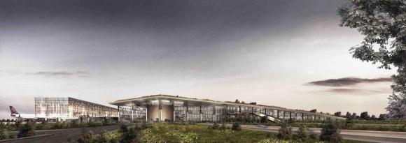 Cukurova Airport by EAA Emre Arolat Architects, Turkey, Image Courtesy © EAA Emre Arolat Architects