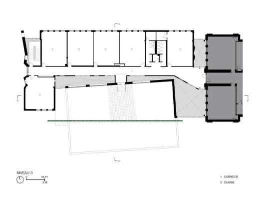 Third floor, Image Courtesy © NFOE et associés architectes