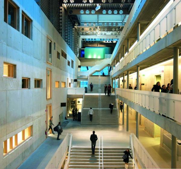 Atrium (1) , Image Courtesy © Christine Deboosere