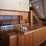 The Kitchen and island, Image Courtesy © Robert Harvey Oshatz, Architect