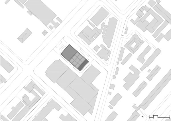 Site plan, Image Courtesy © gmp Architekten von Gerkan, Marg und Partner