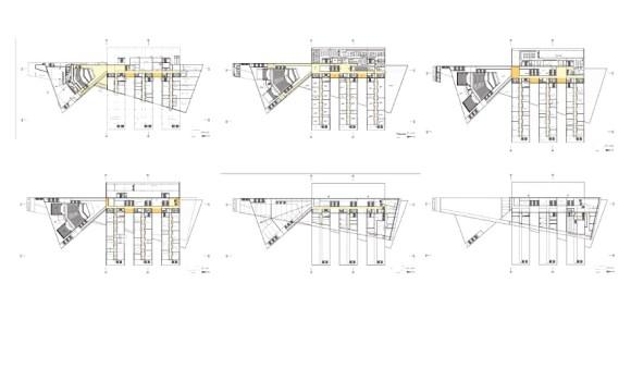 Major Floor plans, Image Courtesy © SAR architecten