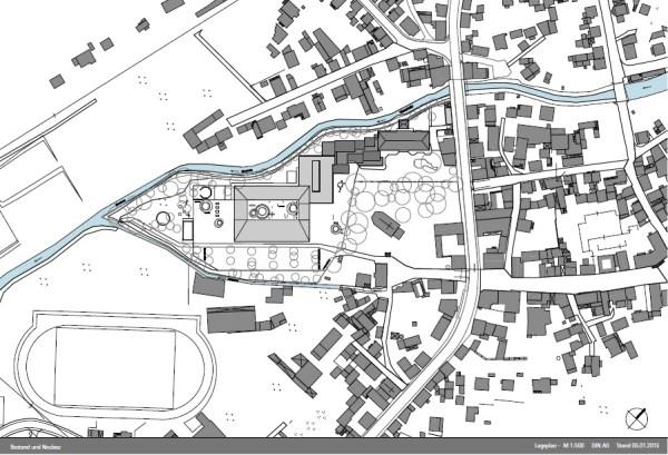 Site map, Image Courtesy © gmp Architekten von Gerkan, Marg und Partner