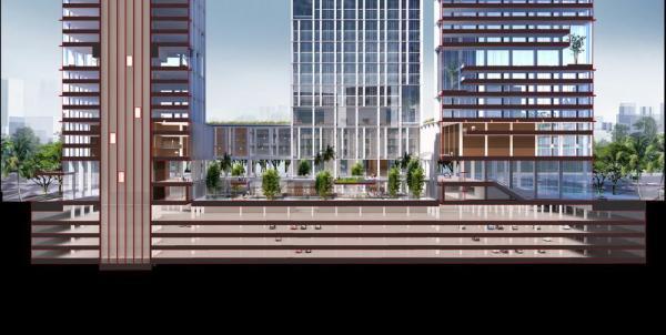Section, Image Courtesy © gmp Architekten von Gerkan, Marg und Partner