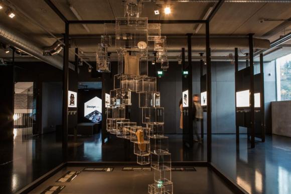 exhibition space Cube design museum , Image Courtesy © Henny van Belkom